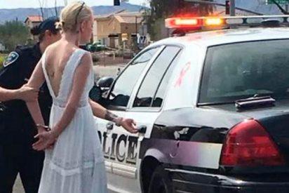 Detienen a esta novia camino de su boda por conducir drogada y bebida