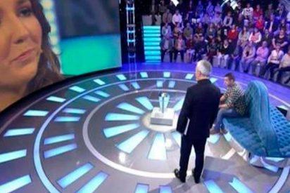"""""""Novio a la fuga"""": Ella se declara a su ex ante toda España y él sale corriendo despavorido del plató"""