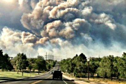 Efecto enfriamiento: el humo de incendios forestales de Africa interactúa con las nubes