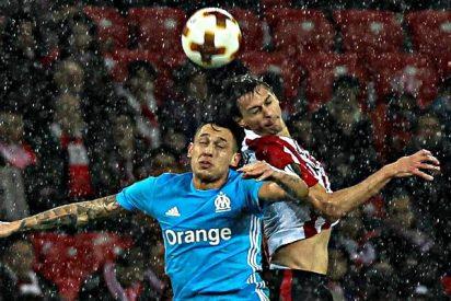 San Mamés: Apuñalan en el cuello a un vigilante jurado durante el Athletic de Bilbao-Olympique de Marsella