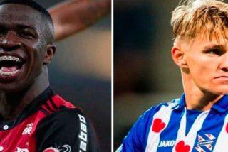 Odegaard y Vinicius triunfan lejos del Madrid
