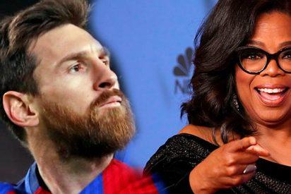Así fue el sorprendente mensaje motivador de Oprah Winfrey para Messi de cara al Mundial