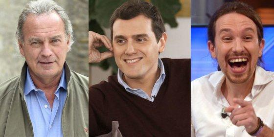 Bertín Osborne le provoca una indigestión a los separatistas de La Vanguardia con sus elogios a Albert Rivera y sus palos a Pablo Iglesias