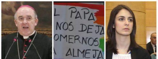 """Osoro queda en ridículo alistando a la Virgen con la tropa 'quema curas' y 'come almejas'"""""""
