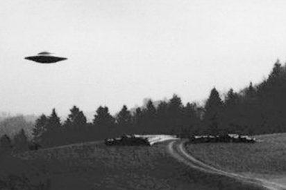 Así fue el inquietante momento en que un piloto de EE.UU. observa un OVNI