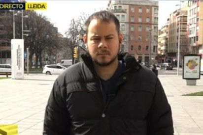 La vergonzosa tocata y fuga del rapero Pablo Hasel tras retratarse en 'Espejo Público'
