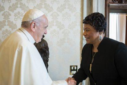 El Papa recibe a la hija activista de Martin Luther King