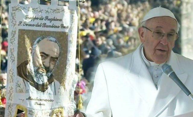 El Papa viaja este sábado a Pietrelcina y San Giovanni Rotondo