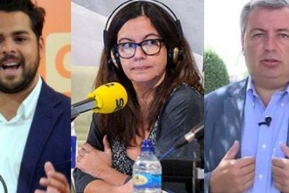 De Páramo se enfrenta a Àngels Barceló cuando ésta acude en auxilio de Jordi Xuclá en plena refriega entre ambos
