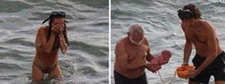Esta turista rusa da a luz en el Mar Rojo y sale del agua como si nada