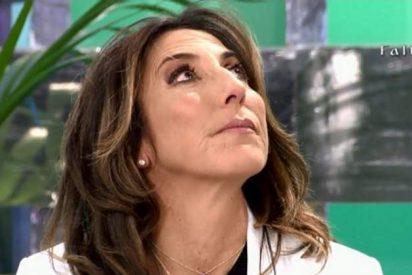 Paz Padilla se vuelve loca y critica en 'Sálvame' la falta de ética de Telecinco
