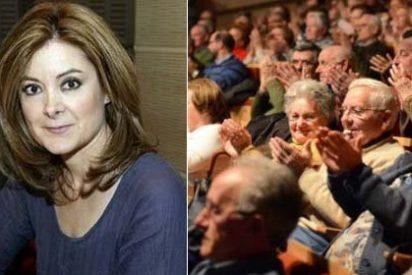 El público de 'No es un día cualquiera' de RNE aplaude enfervorizado cuando Pepa Fernández lee en antena la noticia de la detención de Puigdemont
