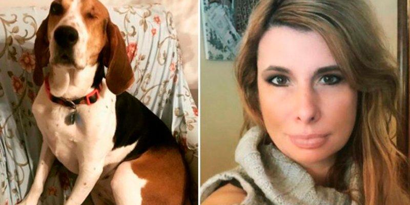 Esta perrita salva la vida de su dueña al detectarle un cáncer de piel