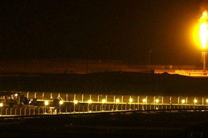 Así intercepta un misil al norte de Riad la fuerza aérea saudí