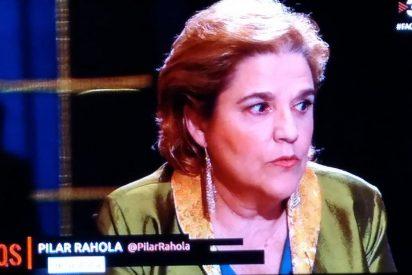 El apestoso tuit de Pilar Rahola que la hunde del todo en las cloacas