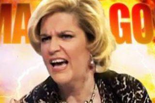 """Pilar Rahola sufre un ridículo ataque de histeria: """"¡Hagan presidenta a la tal Arrimadas!"""""""