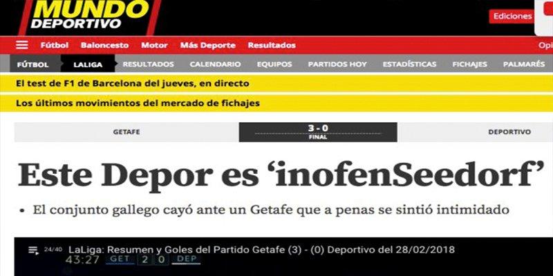 Descojone colectivo con el hilarante titular de 'Mundo Deportivo'
