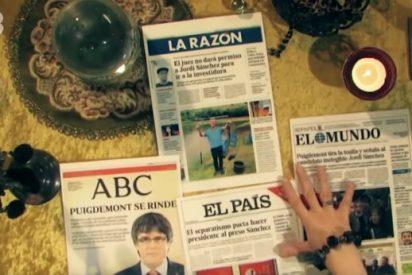 Ataque por tierra, aire y mar de TV3 a la prensa de Madrid