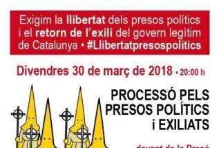 Organizan una 'procesión' independentista en Tarragona