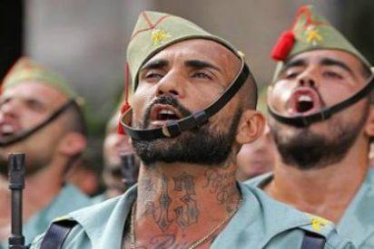 El golpe de la Legión en los 'collons' del separatismo por montar un cirio en Semana Santa