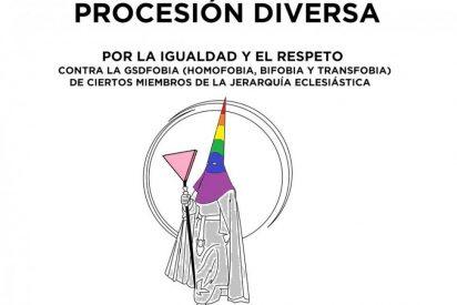 Procesión profana reclama a la Iglesia más respeto por las diversas sexualidades