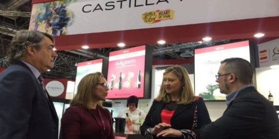 Economía y Hacienda promociona los vinos de Castilla y León en la feria internacional Prowein