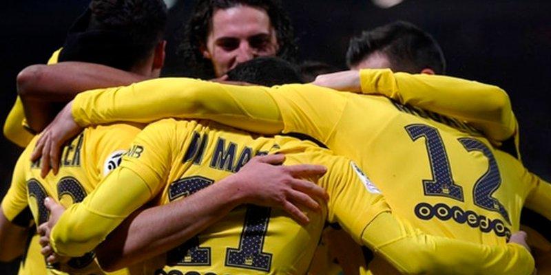 Los jugadores del PSG hacen piña para demostrarle al mundo que sin Neymar son mejores
