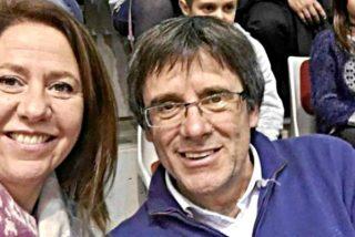 El prófugo Puigdemont tiene un 'Plan G': La alcaldesa de Gerona como relevo