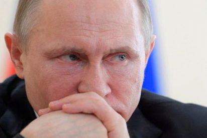 Putin visita a los supervivientes del terrible incendio en un centro comercial de Kémerovo