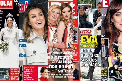 Bustamante firma el divorcio con Paula, Carmen Borrego copia a Terelu y Letizia disfruta de sus hijas
