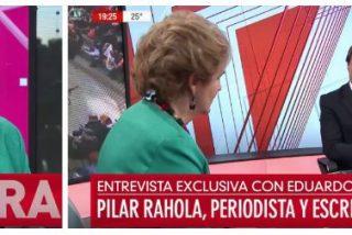 Pilar Rahola hace el paleto supino en una televisión argentina tras presentarla como escritora española