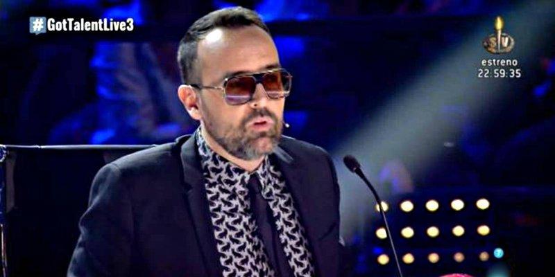 'Got Talent': Violento choque entre el presumido Risto Mejide y una concursante