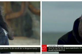 Rosel, la 'masajista' de TV3, entrevista con rostro complaciente al etarra Yoldi para ensalzar a los golpistas catalanes