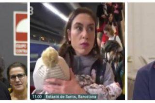 Los tuiteros muelen a palos a Gabriel Rufián por usar al bebé del golpista Cuixart para insultar al Estado