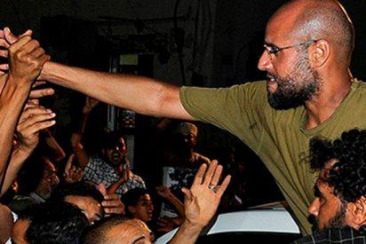 """¿Puede el hijo de Gaddafi """"unir a los libios sobre la base de los intereses nacionales""""?"""