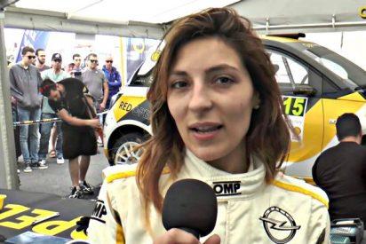 Sara Fernández, una mujer de campeonato y una artista del rally