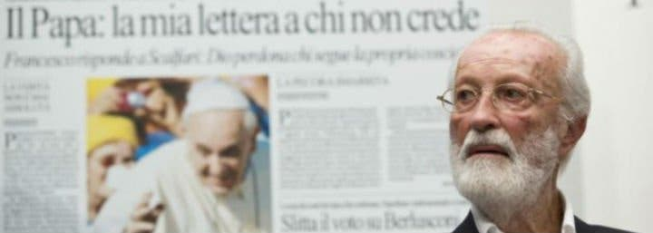 """El Papa, con Scalfari: """"Es un honor ser llamado revolucionario"""""""