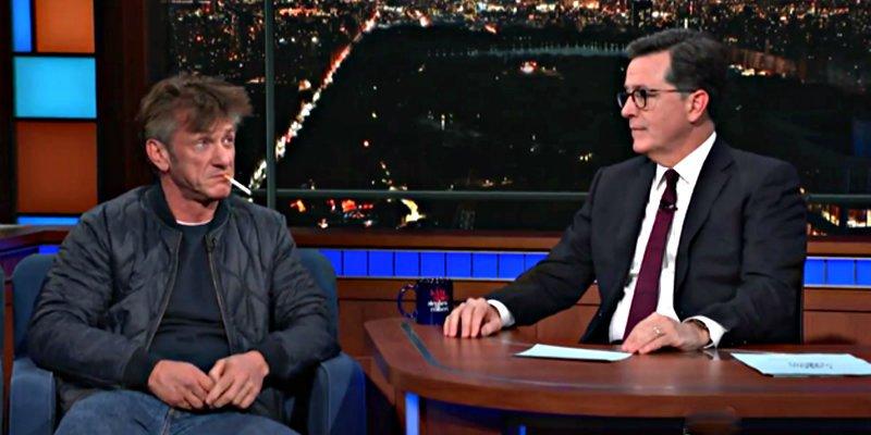 El actor Sean Penn aparece completamente drogado en una entrevista