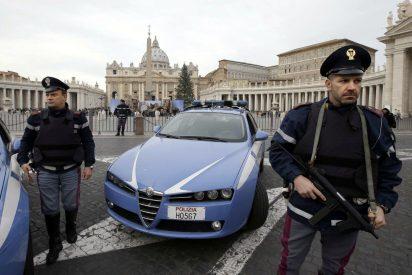 """Francisco agradece a la Policía italiana la protección """"para que no haya algún loco que cometa una masacre"""""""