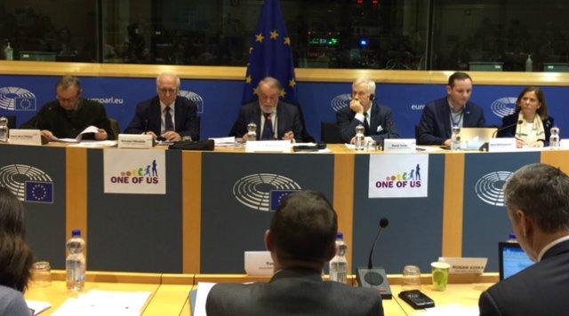 La UCV, en la Semana por la Vida del Parlamento Europeo