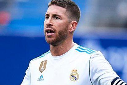La cagalera de Sergio Ramos en medio del partido contra el Eibar