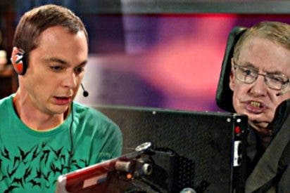 El día que Stephen Hawking 'abochornó' a Sheldon Cooper en 'The Big Bang Theory'