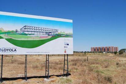 Loyola Andalucía coloca la primera piedra de su nuevo campus