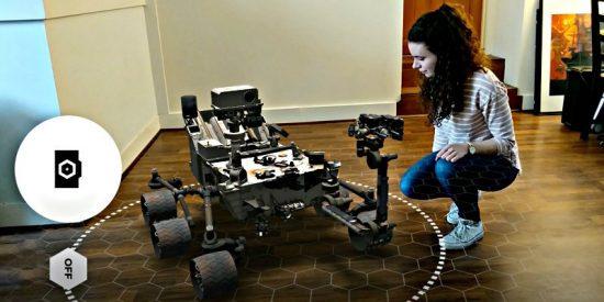 'Spacecraft AR': Una app de realidad aumentada reproduce en 3D exploradores de la NASA
