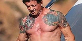 Stallone en plena forma a sus 71 años