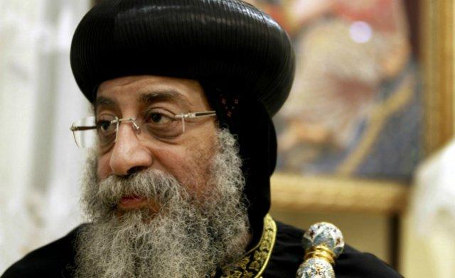 Histórica visita del heredero de Arabia Saudí al 'papa' copto