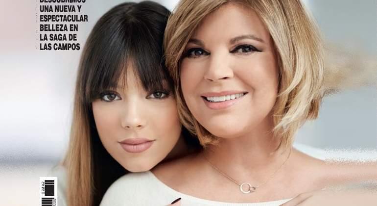 ¿No se han pasado con el Photoshop de la hija de Terelu?