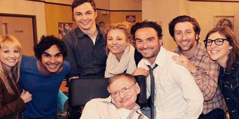 Así despidieron los geniales actores 'The Big Bang Theory' a Stephen Hawking