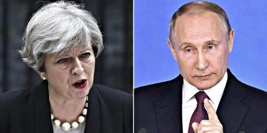 """El Kremlin tacha de """"imperdonables"""" los comentarios de Boris Johnson sobre Vladimir Putin"""
