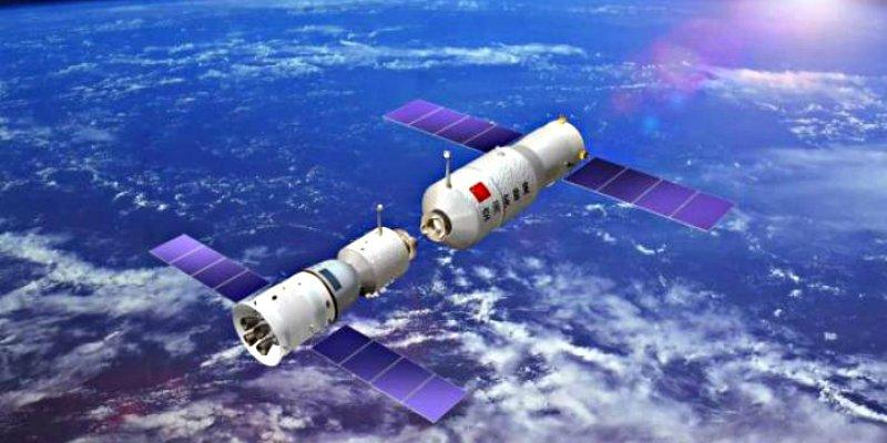 La estación espacial china caerá a la Tierra entre el 31 de marzo y el 1 de abril